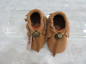 Baby Moccasins only size 2 New Born