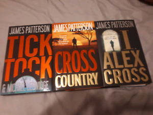 3 Hard Cover James Patterson Books
