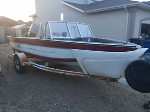 16 Foot Fish / Ski Boat - Open To Offers