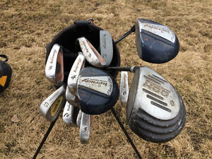 RH MENS AND LADIES COMPLETE SET OF GOLF CLUBS