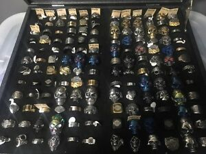 Harley Davidson Rings Various Sizes & Styles