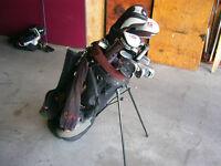 Set of Golf Clubs Left Handed