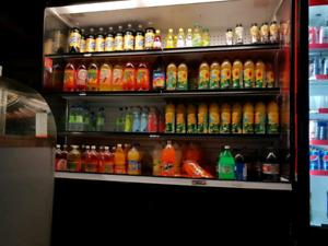 Magasin fridge for cold drinks