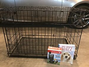 Large Dog Crate/ Puppy Pack