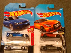 Hotwheels Nissan GTR Then and Now for sell