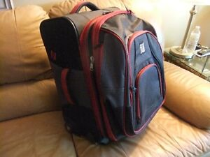 Carry-on with Zip-off Backpack