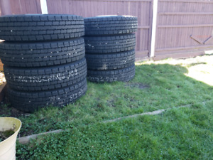 11r24.5 hankook tires and alcoa rims