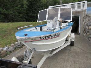 vendre bateau de peche