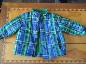 Green & Blue Snowsuit
