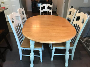 Farmhouse dinning table set for SALE