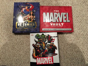 Marvel and DC Hardcover Chronicles Comic Encyclopedia