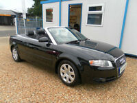 Audi A4 Cabriolet 2.0T FSI automatic convertible 2007