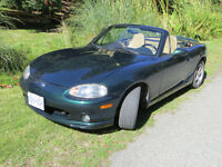 1999 Mazda MX-5 Miata Leather interior Hardtop