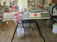 Elna Bulky Knitting Machine and Ribber