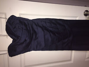 3 Beautiful navy blue gowns