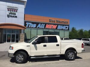 2008 Ford F-150 Lariat  LOCAL TRADE, LEATHER, 4X4, BOXLINER