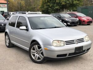 2003 Volkswagen GTI LOW KMS GTI VR6 Coupe 6-Speed Manual Leather