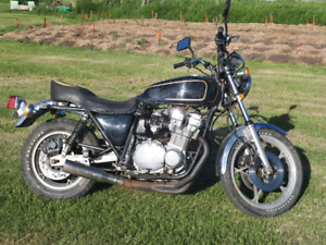 1978 Suzuki GS 750 for sale comes with lots of extra parts