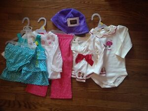 NWT Baby girls clothing 3-12month