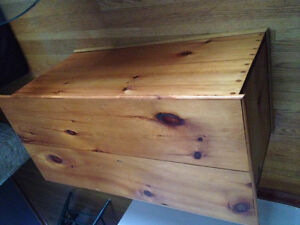 Hope chest, hand crafted & solid wood