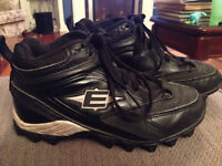 Boys EASTON Football Cleats size 3