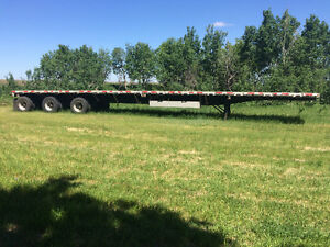 For sale flat deck trailer