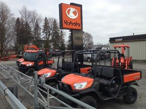 0% FOR 48 MONTHS ON KUBOTA RTV'S