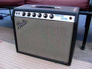 Fender Princeton Reverb Or  Non Reverb Amp Silverface Wanted