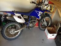 Ttr230 for sale with cargo rack