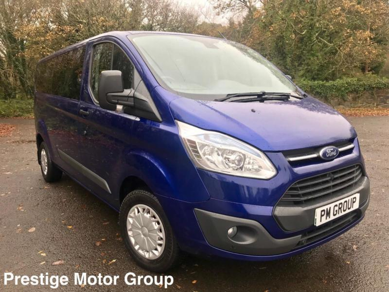 2014 Ford Transit Custom 2.2TDCI 310 Trend 9 Seater **15,000 Miles - History**