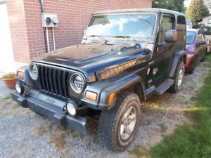 2003 Jeep TJ Safety&Etested
