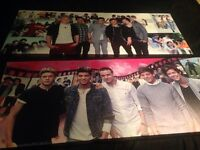 """X2 large """"one direction"""" canvas"""