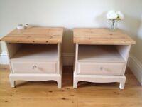 2 Stag minstrel bedside tables