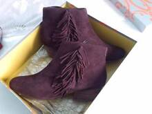 BRAND NEW 100% LEATHER/SUEDE ANKLE BOOTS Marsden Logan Area Preview