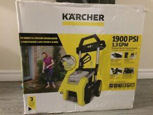 KARCHER pressure washer 1900 PSI 1.3 GPM