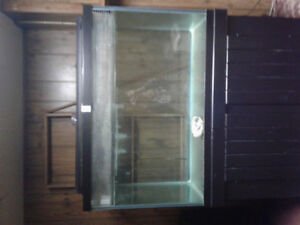 150 gallon aquarium + stand and filters.