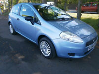 06 Fiat Grande Punto 1.3 Multijet 16v 75 Active in Blue Diesel