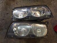 BMW e38 headlamps