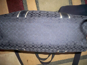 BLACK Authentic Coach purse Windsor Region Ontario image 8