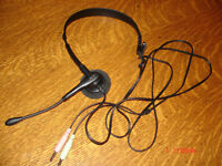 Clip on Microphone Headset