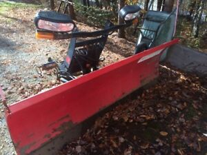 "SOLD PPU - 7'6"" Boss plow for sale - complete setup for F150"