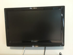 24 inch flat screen with wall mount