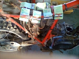CASH FOR BROKE DAMAGED UNWANTED DIRTBIKES