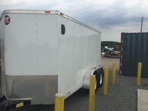 2013-6x12 wells cargo enclosed trailer