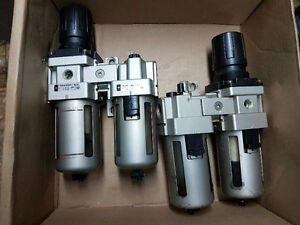 air regulator / oiler  assemblies
