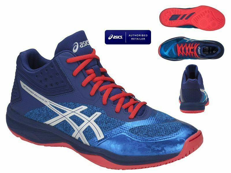 Volleyball Shoes Asics Netburner Ballistic FF MT Scarpe Pallavolo Shoes Schuhe