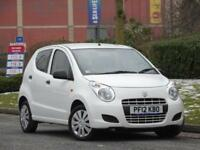Suzuki Alto 1.0 2012 SZ3 WHITE + PARKING SENSORS + 1 OWNER + FSH