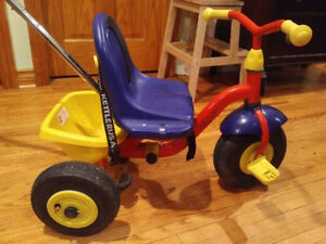 Kettler KETTRIKE HAPPY AIR NAVIGATOR tricycle, Used