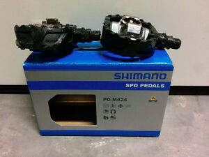 Shimano M424 SPD Clipless Pedals