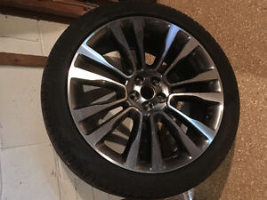 LINCOLN MKX 2016 tire with rim